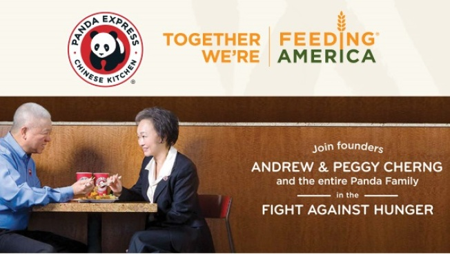 Panda Express & Feeding America's Family Day