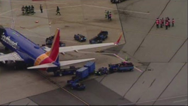 Baggage Handlers Smell Suspicious Luggage at SFO