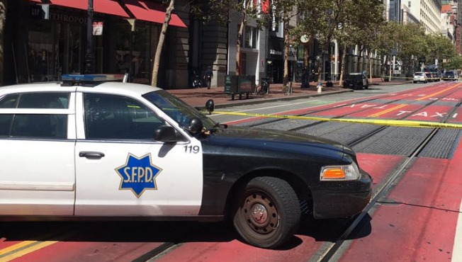 Suspicious Package Reported At Powell Street Bart Station