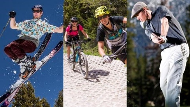 Mammoth Mountain: Ski, Bike & Golf in a Day