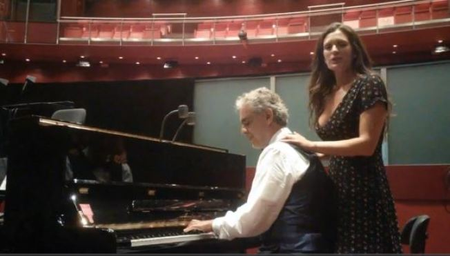 International Musician Andrea Bocelli Has Message for San Jose Sharks