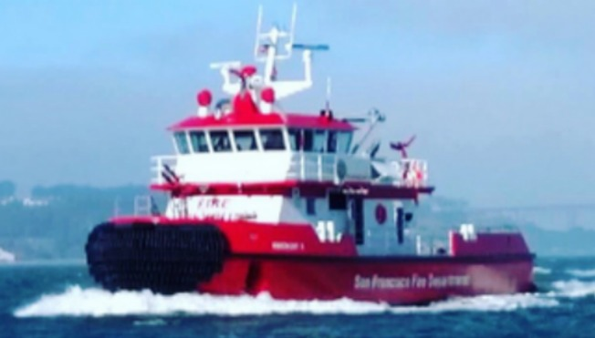 San Francisco Unveils New State-of-the-Art Fireboat