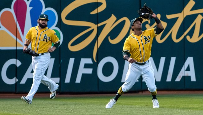 A's Do It Again, Use Extras to Beat Angels in Walk-Off Fashion