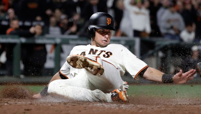Giants End Four-Game Skid With Series-Opening Win Over Dodgers