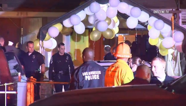Gun battle at LA restaurant leaves 3 dead, 12 wounded
