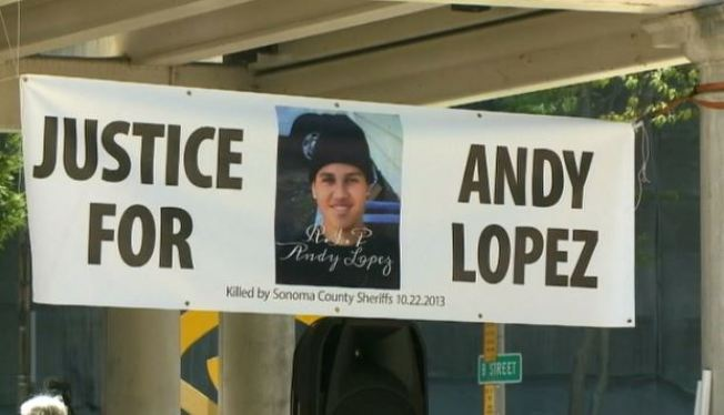 Activists Protest Decision in Andy Lopez Death