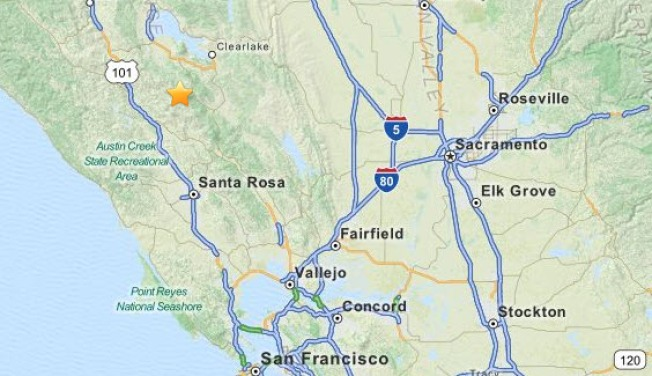 Magnitude 4.5 Earthquake Rattles the North Bay