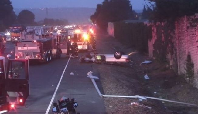 22-Year-Old Man Dies, Passenger Injured In Highway 101 Crash