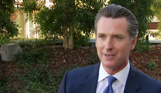 Democrat Newsom Re-elected Lieutenant Governor