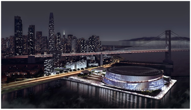 New Design for Warriors' Waterfront Arena Released