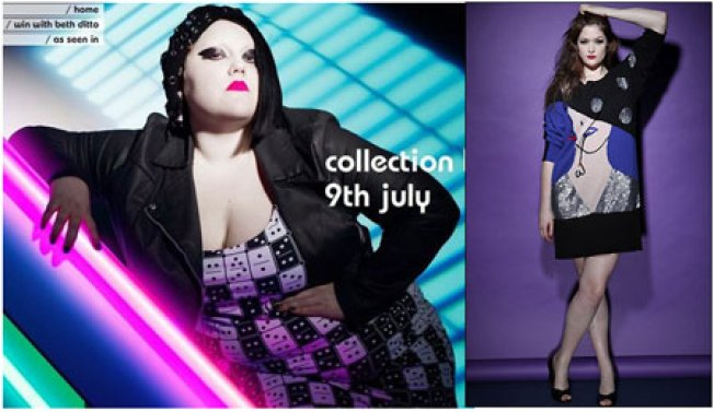 Sneak Peek at Beth Ditto for Evans