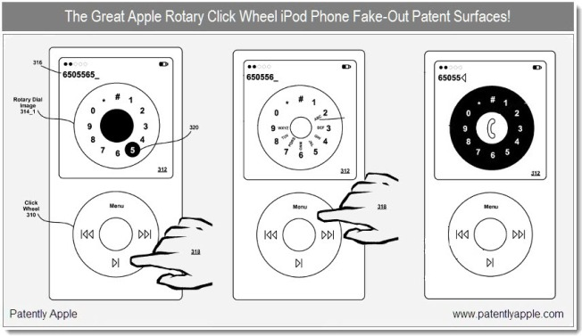 Rotary Dial iPhone Clears Patent Hurdle