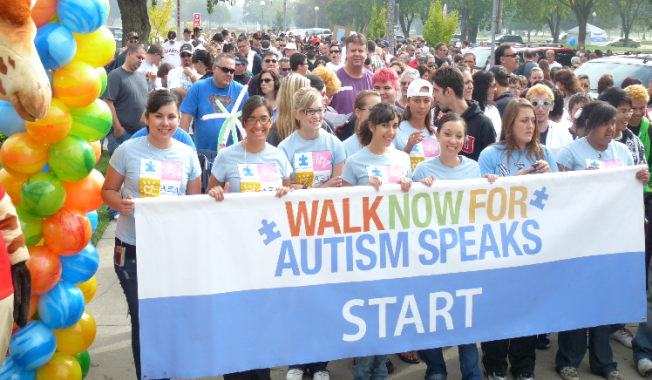 Walk Now For Autism Speaks May 18