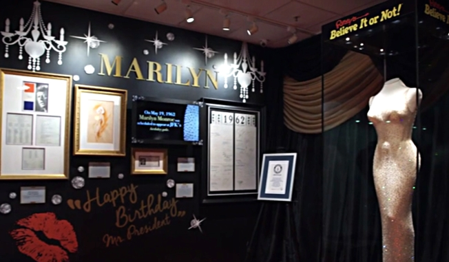 Marilyn Monroe's Iconic Dress Comes to San Francisco