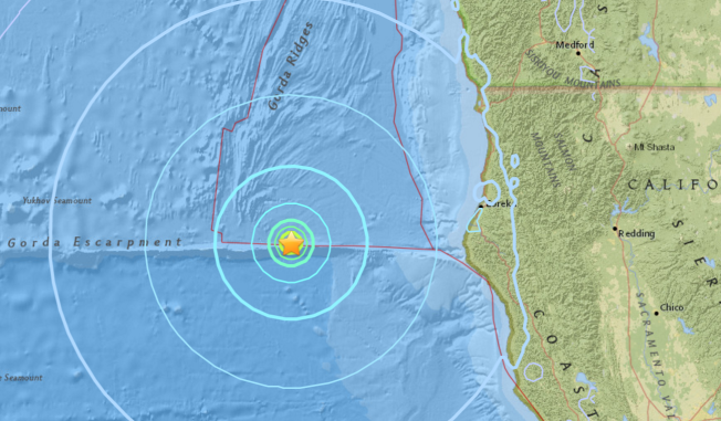 3.3 magnitude quake strikes southwest of Ferndale