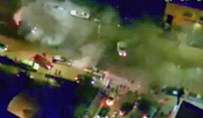 CHP Arrests Suspect in Laser Strike During Oakland Sideshow