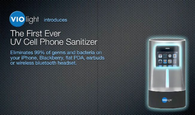 UV Sanitizer Gives You the Power to ROAST Germs Off Your Phone