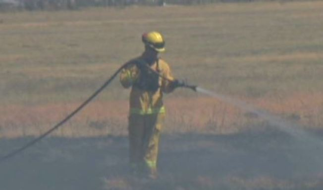 Hwy 12 Reopens Following 4-Alarm Grass Fire