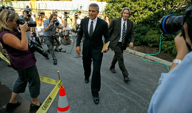 George Clooney Comes to Stanford