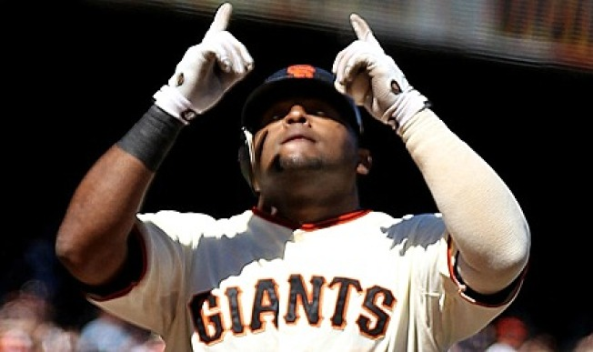 Sandoval Pushes Giants Past Brewers 13-3