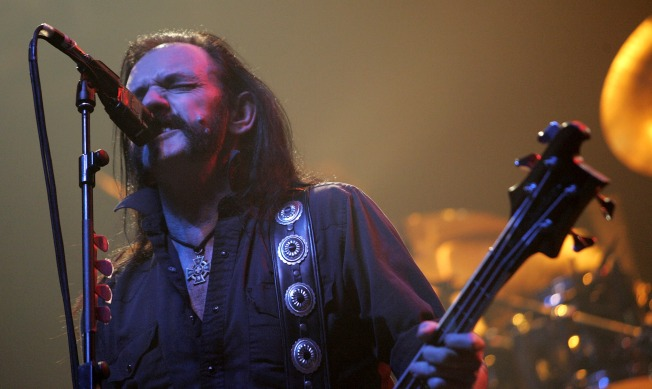 Motorhead's Lemmy Comes to Town