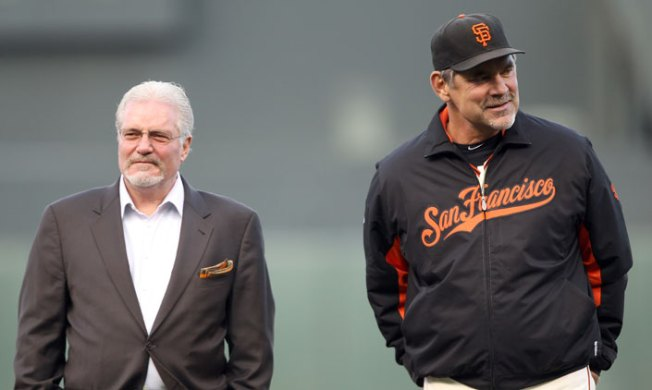 Giants Extend Bruce Bochy, Brian Sabean Through 2019 Season; Bobby Evans Promoted to GM