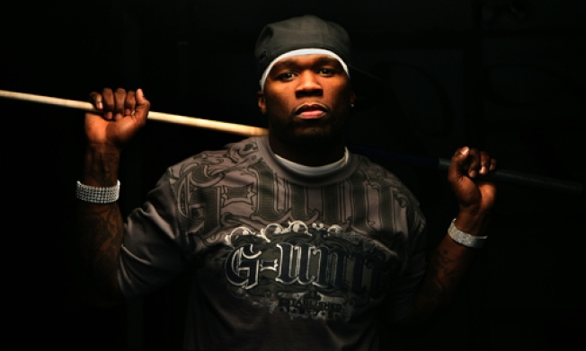 50 Cent Tweet-Bets His Junk on the Giants