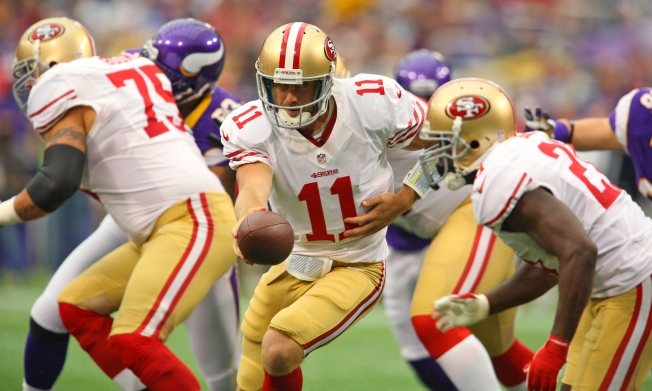 Against Vikings, 49ers' Usually Balanced Offense Was Missing