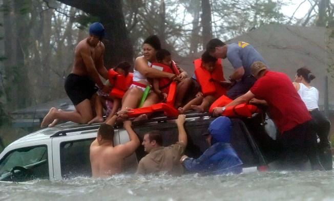 One Town's Post-Katrina Diaspora