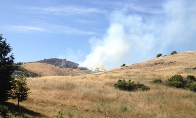 Two Grassfires Break Out in Marin