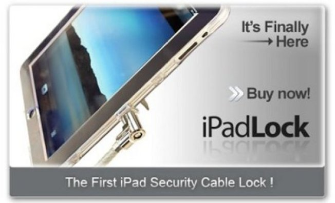 Lock Your iPad Down With the iPadLock