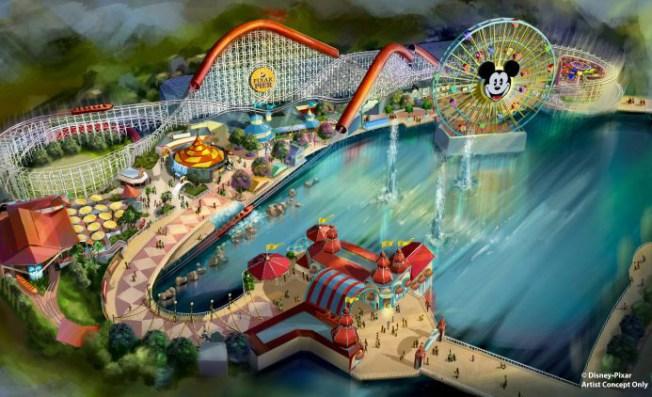 Farewell: Disney's California Screamin' Coaster Gets Makeover