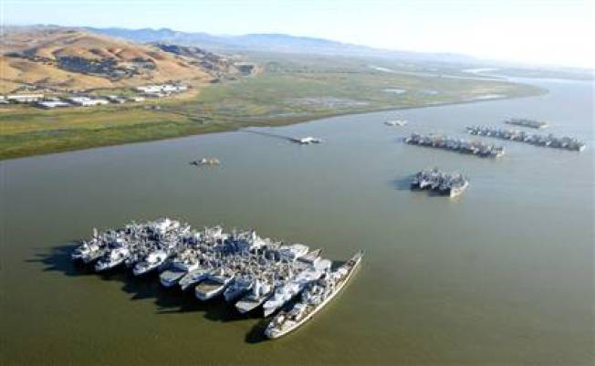 Mothball Fleet to Shrink By 3 More