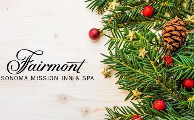 Annual Tree Lighting Ceremony at Fairmont Sonoma Mission Inn & Spa