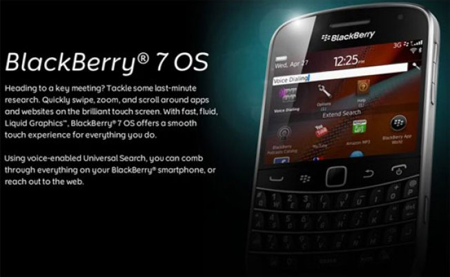 RIM Announces Its Newest Mobile OS, BlackBerry 7