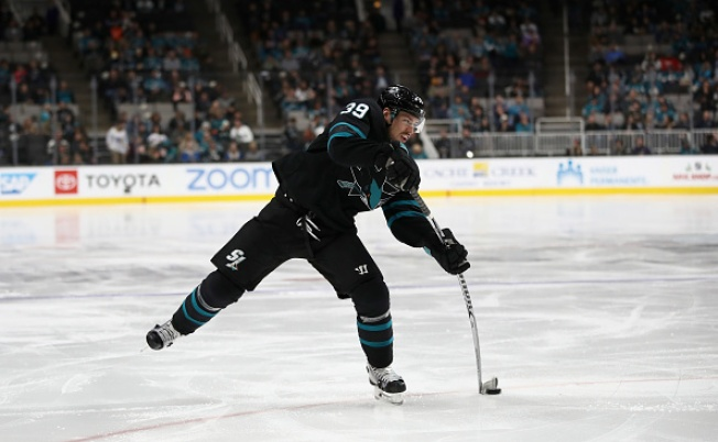 Sharks Rally to Beat West Rival Golden Knights