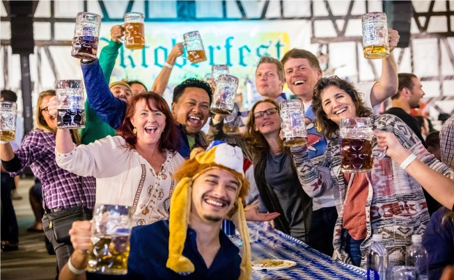 Oktoberfest in Downtown Redwood City