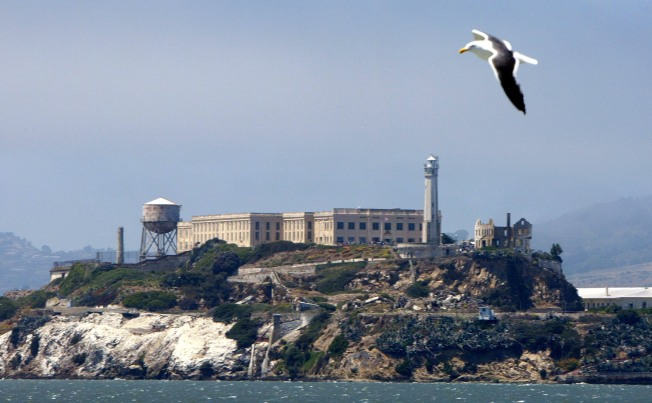 Alcatraz Water Tower Getting a Facelift