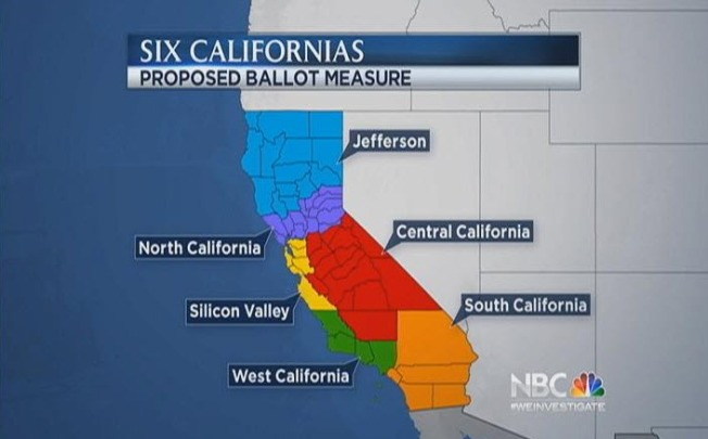 """Six Californias"" Wouldn't Help Republicans: Study"