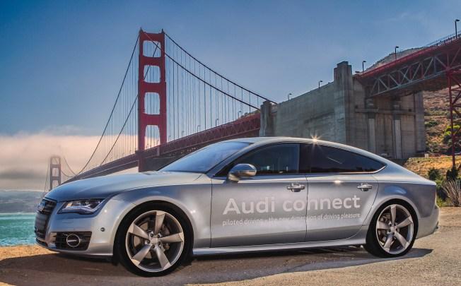 Audi Gets First Permit To Test Driverless Cars In California NBC - Audi driverless car