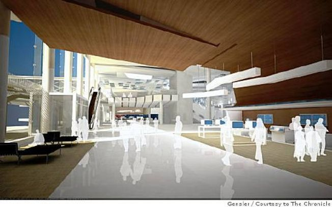Rendering Reveal: SFO Terminal Turns Spa