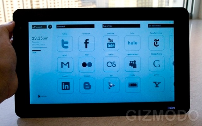 JooJoo tablet gets its first hands-on