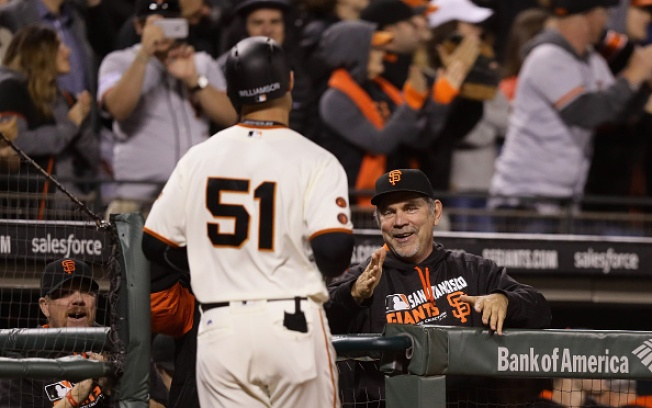 Giants Get a Lift From Williamson, Bumgarner in Win Over Red Sox