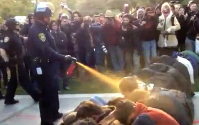 "Pepper-Spraying UC Davis Cop ""Terminated"""
