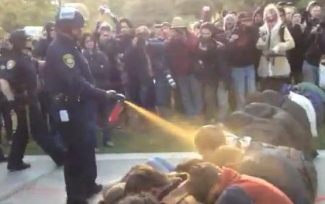 UC Davis Pepper Spray Report Blocked