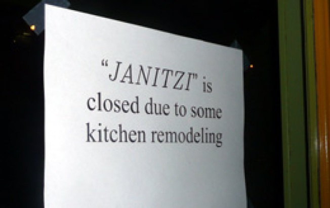 The Shutter: One Month In, Janitzi Having Problems