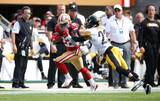 Niners' Group of Running Backs Is Producing