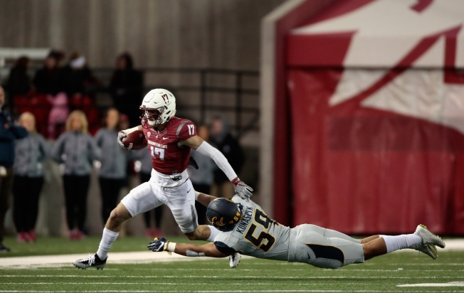 No. 23 Washington State Cruises Over California 56-21
