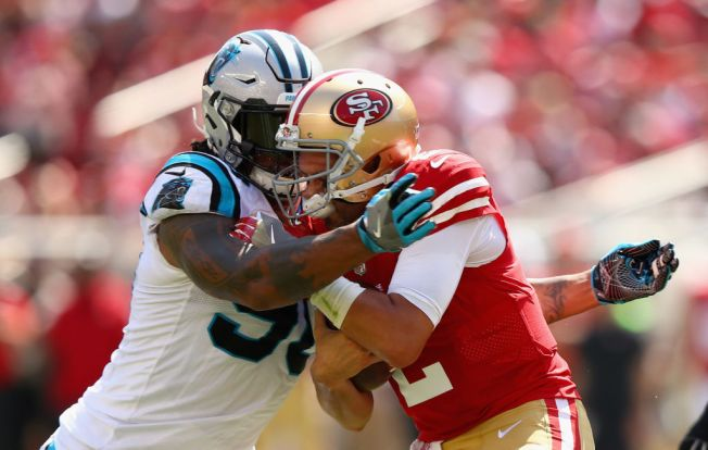 San Francisco 49ers vs Carolina Panthers