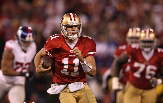 Expect Smith, Not Manning, at 49ers Helm